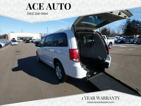 2013 Dodge Grand Caravan for sale at Ace Auto in Jordan MN