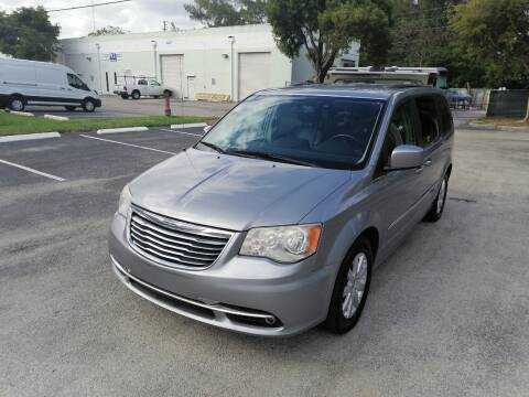 2015 Chrysler Town and Country for sale at Best Price Car Dealer in Hallandale Beach FL