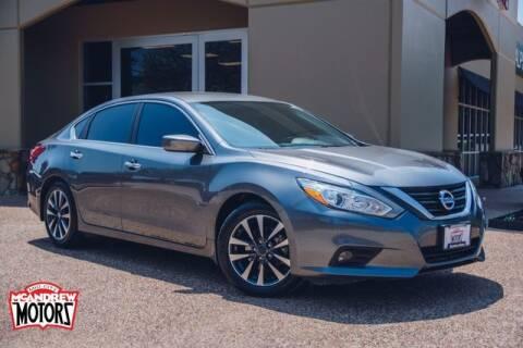 2016 Nissan Altima for sale at Mcandrew Motors in Arlington TX