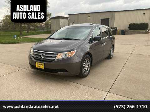 2013 Honda Odyssey for sale at ASHLAND AUTO SALES in Columbia MO