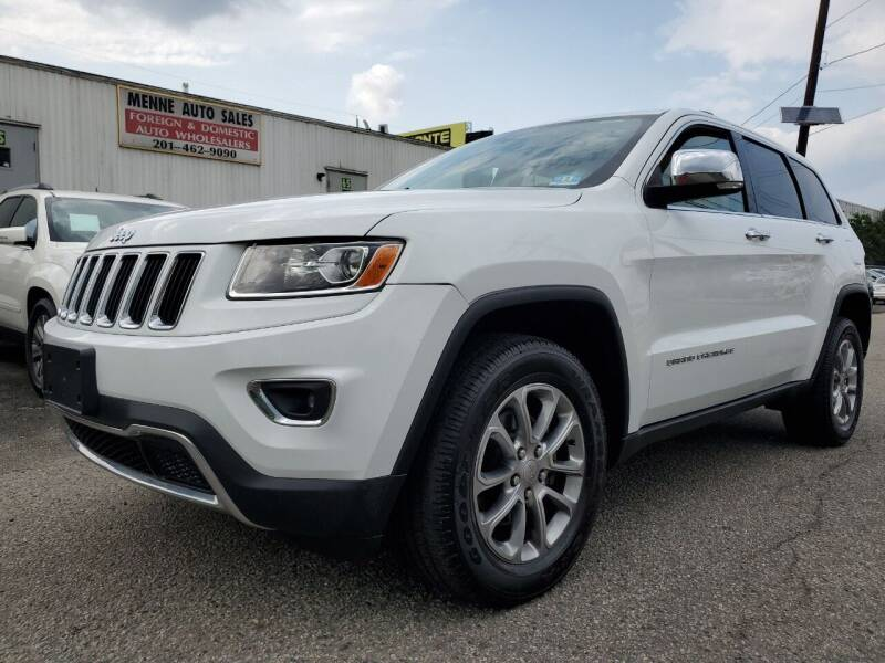 2015 Jeep Grand Cherokee for sale at MENNE AUTO SALES LLC in Hasbrouck Heights NJ