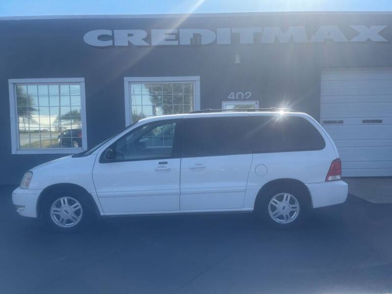 2004 Ford Freestar for sale at Creditmax Auto Sales in Suffolk VA