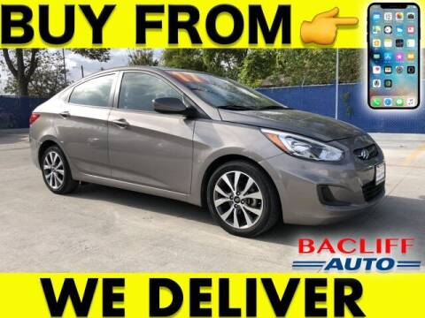 2017 Hyundai Accent for sale at Bacliff Auto in Bacliff TX