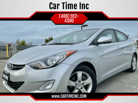 2012 Hyundai Elantra for sale at Car Time Inc in San Jose CA