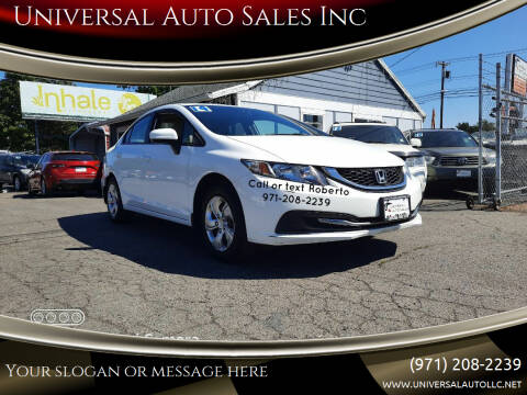2014 Honda Civic for sale at Universal Auto Sales Inc in Salem OR