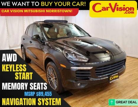 2017 Porsche Cayenne for sale at Car Vision Mitsubishi Norristown in Norristown PA