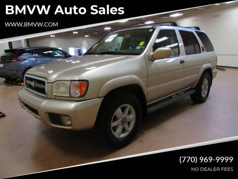 1999 Nissan Pathfinder for sale at BMVW Auto Sales in Union City GA