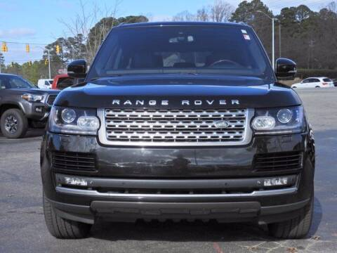 2015 Land Rover Range Rover for sale at Auto Finance of Raleigh in Raleigh NC