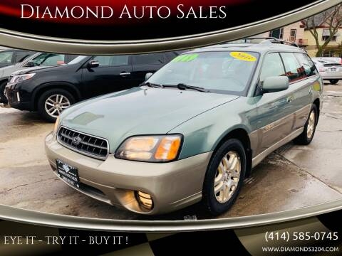 2003 Subaru Outback for sale at Diamond Auto Sales in Milwaukee WI