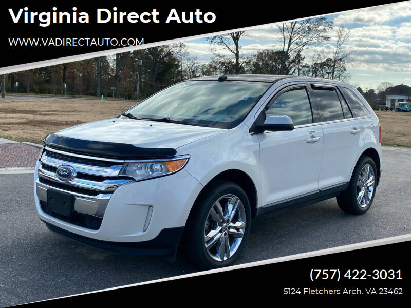 2011 Ford Edge for sale at Virginia Direct Auto in Virginia Beach VA