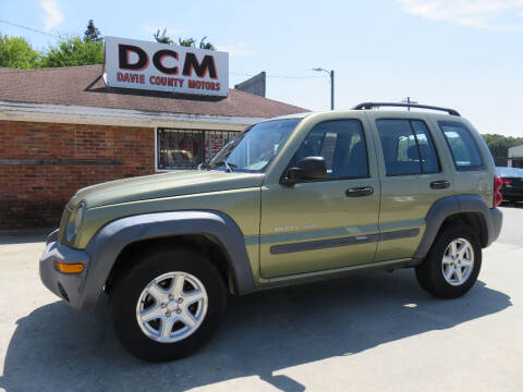 2003 Jeep Liberty for sale at Davie County Motors in Mocksville NC