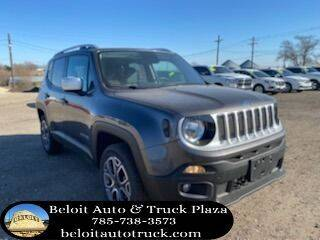 2016 Jeep Renegade for sale at BELOIT AUTO & TRUCK PLAZA INC in Beloit KS