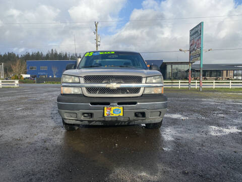 2005 Chevrolet Silverado 1500 for sale at A & M Auto Wholesale in Tillamook OR