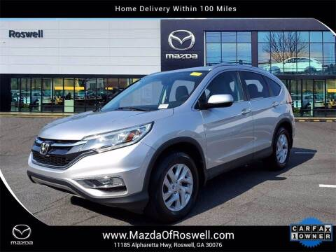 2015 Honda CR-V for sale at Mazda Of Roswell in Roswell GA