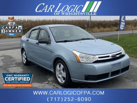 2008 Ford Focus for sale at Car Logic in Wrightsville PA