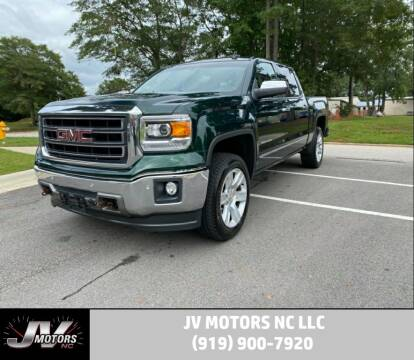 2015 GMC Sierra 1500 for sale at JV Motors NC LLC in Raleigh NC