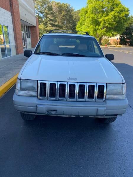 1997 Jeep Grand Cherokee for sale at Dalia Motors LLC in Winder GA