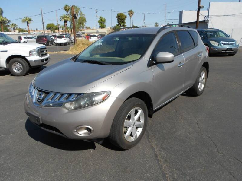 2009 Nissan Murano for sale at COUNTRY CLUB CARS in Mesa AZ