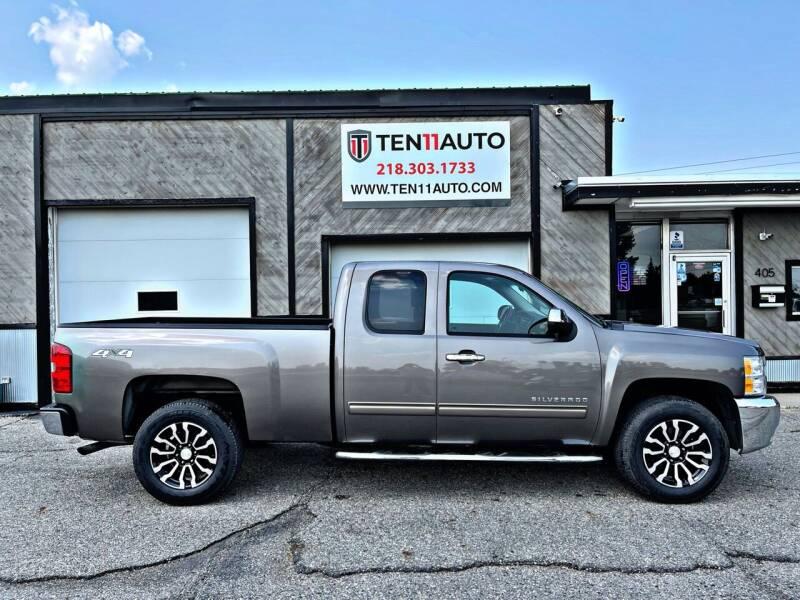 2013 Chevrolet Silverado 1500 for sale at Ten 11 Auto LLC in Dilworth MN