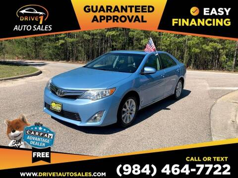 2014 Toyota Camry for sale at Drive 1 Auto Sales in Wake Forest NC