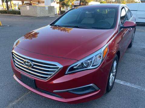 2016 Hyundai Sonata for sale at Cars4U in Escondido CA