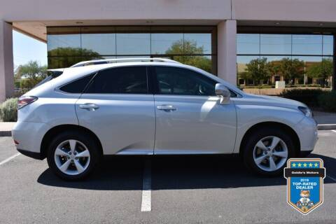 2013 Lexus RX 350 for sale at GOLDIES MOTORS in Phoenix AZ