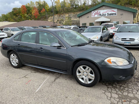 2011 Chevrolet Impala for sale at Gilly's Auto Sales in Rochester MN
