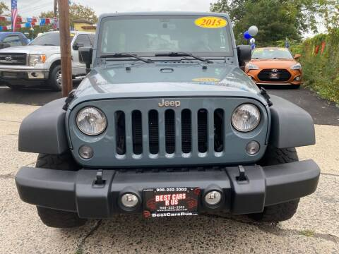 2015 Jeep Wrangler Unlimited for sale at Best Cars R Us in Plainfield NJ