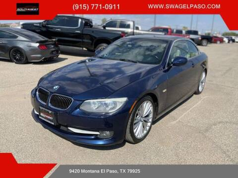 2011 BMW 3 Series for sale at SOUTHWEST AUTO GROUP-EL PASO in El Paso TX