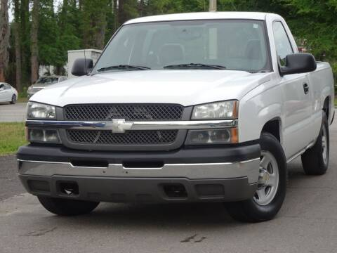 2004 Chevrolet Silverado 1500 for sale at Deal Maker of Gainesville in Gainesville FL