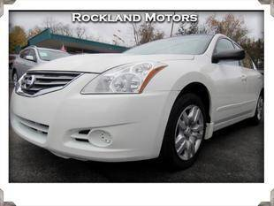2010 Nissan Altima for sale at Rockland Automall - Rockland Motors in West Nyack NY
