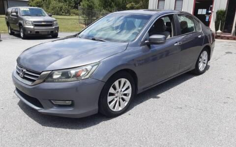 2013 Honda Accord for sale at Mathews Used Cars, Inc. in Crawford GA