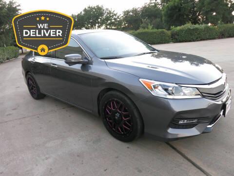 2016 Honda Accord for sale at Auto Genius in Dallas TX