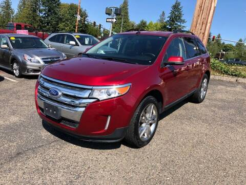 2014 Ford Edge for sale at KARMA AUTO SALES in Federal Way WA