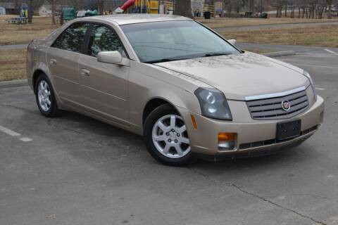 2005 Cadillac CTS for sale at GLADSTONE AUTO SALES    GUARANTEED CREDIT APPROVAL in Gladstone MO