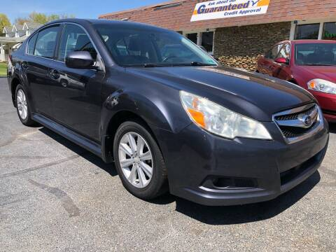 2011 Subaru Legacy for sale at Approved Motors in Dillonvale OH