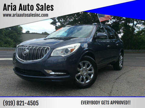 2013 Buick Enclave for sale at ARIA  AUTO  SALES in Raleigh NC
