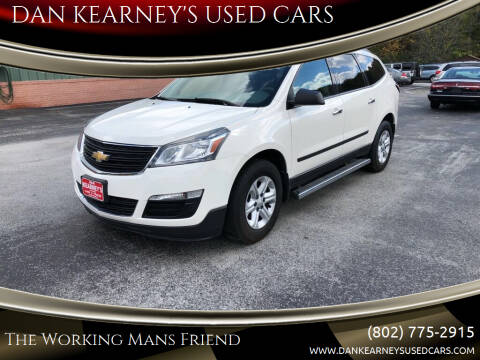 2014 Chevrolet Traverse for sale at DAN KEARNEY'S USED CARS in Center Rutland VT