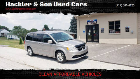 2014 Dodge Grand Caravan for sale at Hackler & Son Used Cars in Red Lion PA