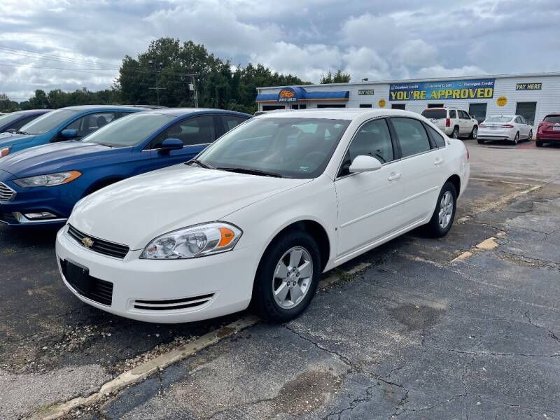 2007 Chevrolet Impala for sale at Greg's Auto Sales in Poplar Bluff MO
