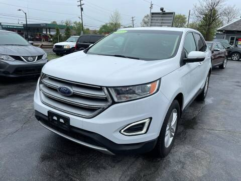 2017 Ford Edge for sale at Mass Auto Exchange in Framingham MA
