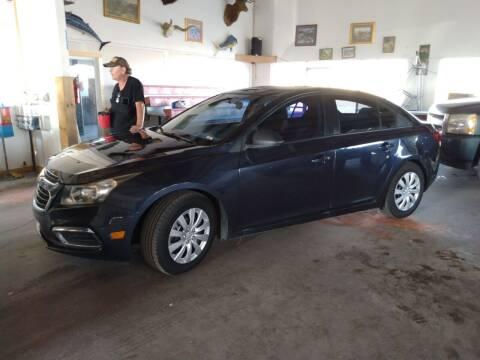 2016 Chevrolet Cruze Limited for sale at PYRAMID MOTORS - Pueblo Lot in Pueblo CO