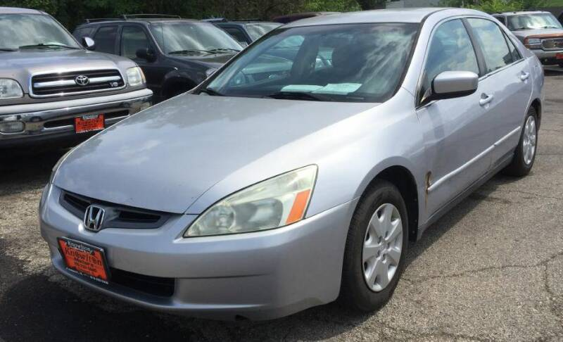 2004 Honda Accord for sale at Knowlton Motors, Inc. in Freeport IL