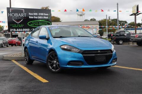 2016 Dodge Dart for sale at Hobart Auto Sales in Hobart IN