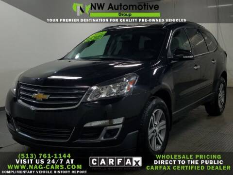 2016 Chevrolet Traverse for sale at NW Automotive Group in Cincinnati OH