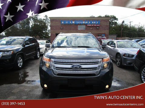 2015 Ford Explorer for sale at Twin's Auto Center Inc. in Detroit MI