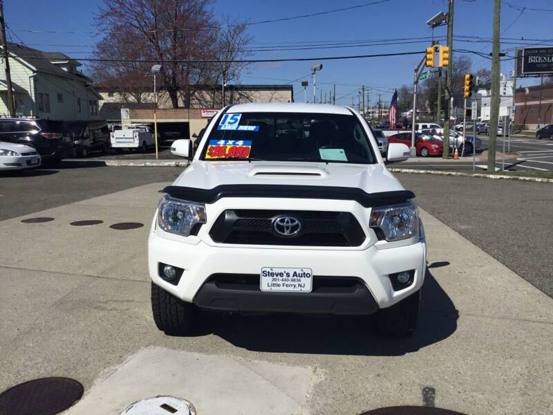 2015 Toyota Tacoma for sale at Steves Auto Sales in Little Ferry NJ