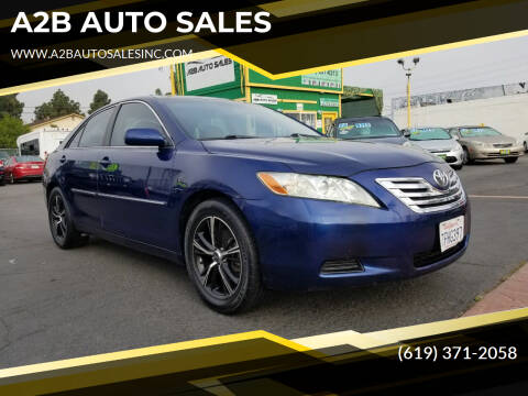 2009 Toyota Camry for sale at A2B AUTO SALES in Chula Vista CA