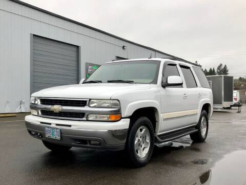 2004 Chevrolet Tahoe for sale at DASH AUTO SALES LLC in Salem OR