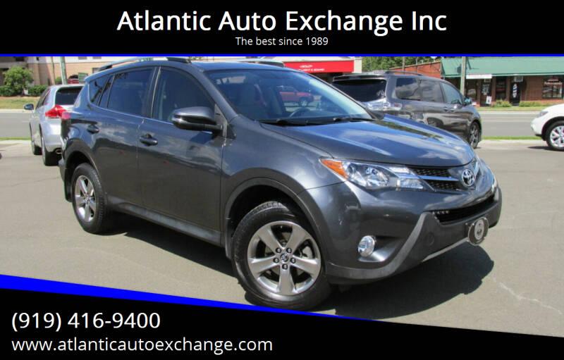 2015 Toyota RAV4 for sale at Atlantic Auto Exchange Inc in Durham NC